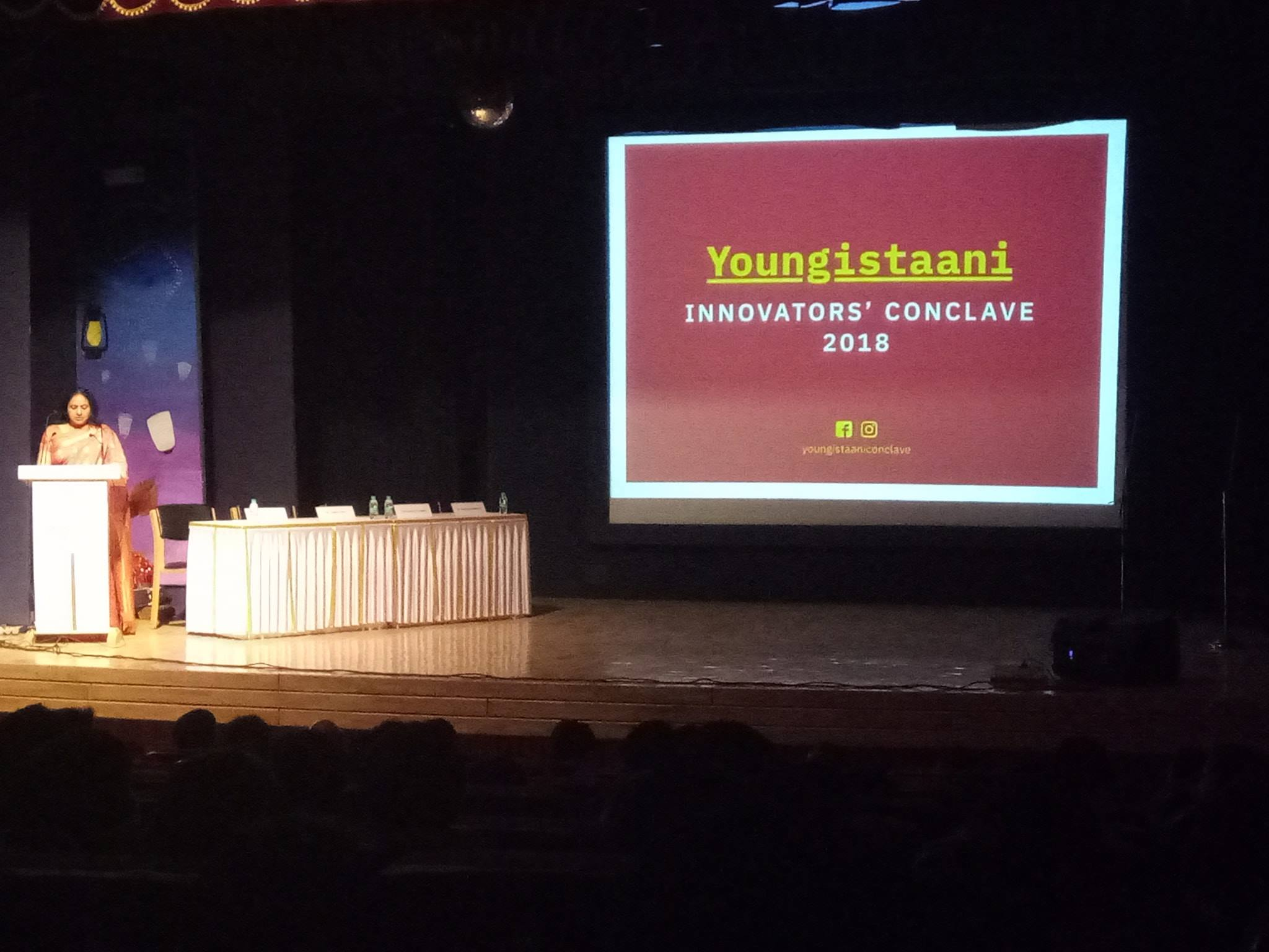 Youngistaaani- Innovators' Conclave 2018
