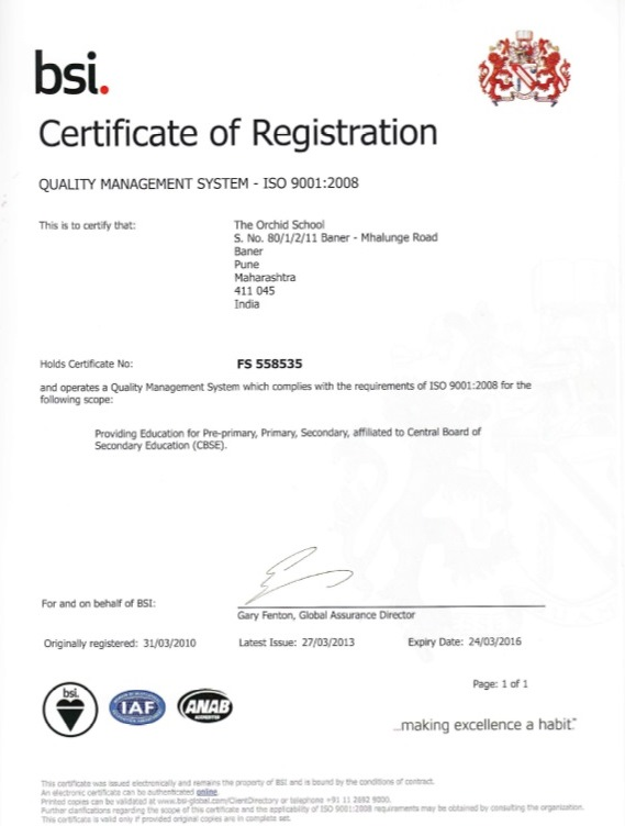 Iso Certification 9001 2008 Quality Management Systems